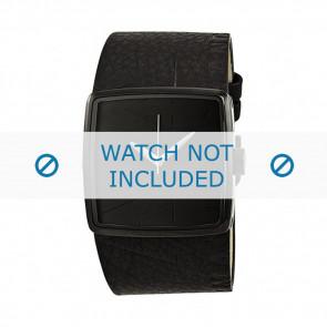 Armani bracelet de montre AX-6002 Cuir Noir 35mm