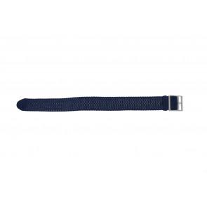 Perlon 20mm bleu lumière