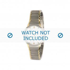 Boccia bracelet de montre 3159 Titane Argent 16mm