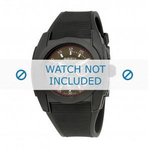 Breil bracelet de montre BW0379 Plastique Noir