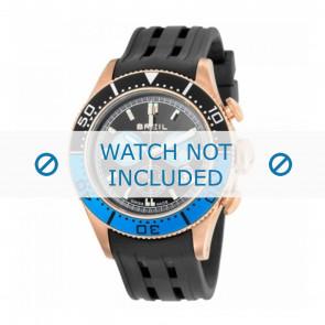 Breil bracelet de montre BW0406 Plastique Noir