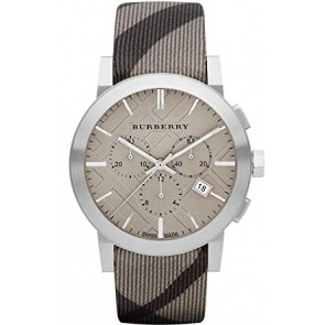 Bracelet de montre Burberry BU9358 / 7177852 Cuir Multicolore 20mm
