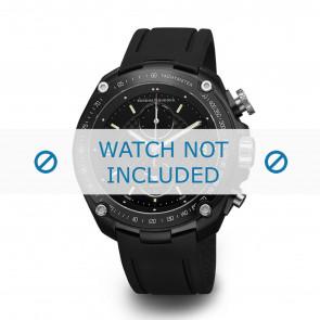 Buddha to Buddha bracelet de montre BTB.M.D.3H.04 / BTB.M.D.3H.03 Plastique Noir