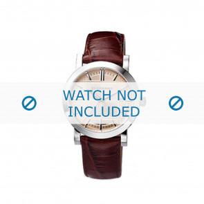 Burberry bracelet de montre BU1356 Cuir Brun 20mm