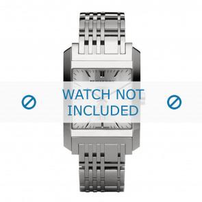 Burberry bracelet de montre BU1567 Métal Argent
