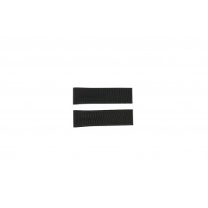 Candino bracelet de montre C4453 / C4453-1 / C4453-2 / C4453-R1 / C4453-R2 Plastique Noir
