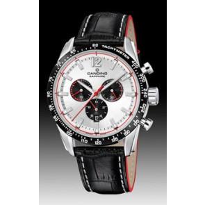 Bracelet de montre Candino C4681 Cuir Noir