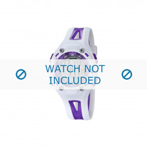 Calypso bracelet de montre K5666-2 Plastique Pourpre 21mm