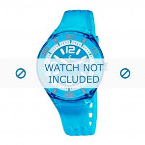 Calypso bracelet de montre K5588/5  Plastique Turquoise