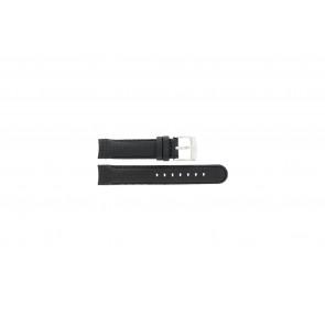Camel bracelet de montre 4040-4059 Carbone Noir 18mm + coutures noires