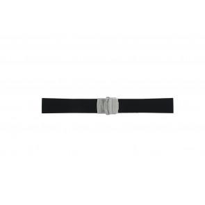 Camel bracelet de montre 5320-5329 En caoutchouc Noir 22mm