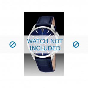 Candino bracelet de montre C4517-3 Cuir Bleu + coutures  bleues
