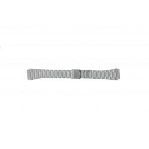 Casio bracelet de montre A158WEA-1EF Métal Argent 18mm