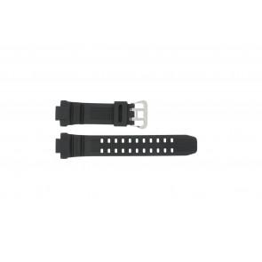 Casio bracelet de montre G-1000-1A En caoutchouc Noir 14mm