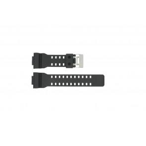 Casio bracelet de montre G-8900-1 / GA-100-1 / GA-110 / GA-110MB / 10347688 Plastique Noir 16mm