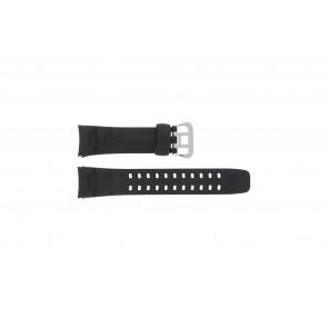 Bracelet de montre G-7400-1V Silicone Noir 16mm