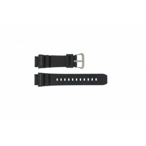 Casio bracelet de montre G-9100-1 En caoutchouc Noir 21mm