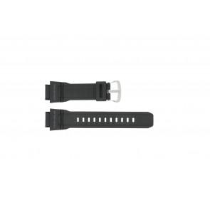 Casio bracelet de montre G-9300-1 / 10388870 Silicone Noir 20mm