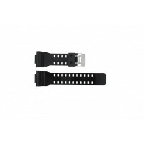 Casio bracelet de montre GA-100CS-7A En caoutchouc Noir 16mm