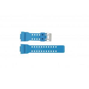 Casio bracelet de montre GD-110-2W En caoutchouc Turquoise 16mm