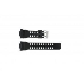 Casio bracelet de montre GLS-8900-1W En caoutchouc Noir 16mm
