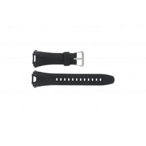 Casio bracelet de montre GW-700A-W1 En caoutchouc Noir 29mm