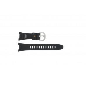 Casio bracelet de montre PRW-1300-1VJ En caoutchouc Noir 26mm