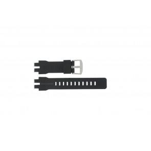 Casio bracelet de montre PRW-6000 En caoutchouc Noir 16mm