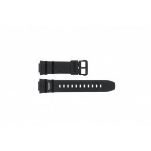 Casio bracelet de montre WV-200E-1AVEF En caoutchouc Noir 16mm