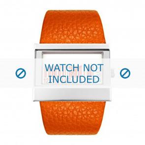 Dolce & Gabbana bracelet de montre 3719240404 Cuir Orange