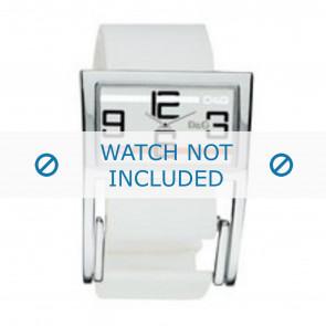Dolce & Gabbana bracelet de montre 3719251192 Cuir Blanc