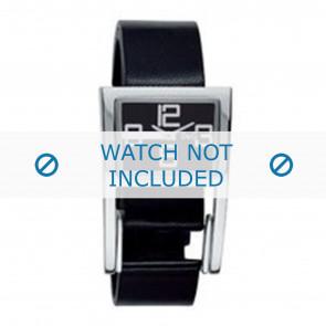 Dolce & Gabbana bracelet de montre 3719251215 Cuir Noir