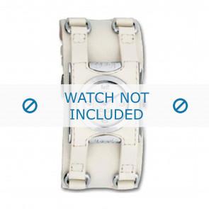 Dolce & Gabbana bracelet de montre DW0100 Cuir Blanc crème / Beige