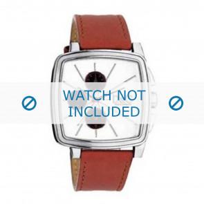 Dolce & Gabbana bracelet de montre DW0105 Cuir Orange + coutures oranges