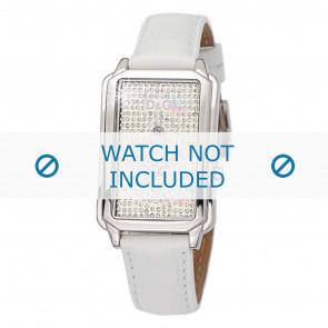 Dolce & Gabbana bracelet de montre DW0114 Cuir Blanc + coutures blanches