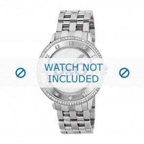 Dolce & Gabbana bracelet de montre DW0133 Métal Argent
