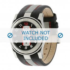 Dolce & Gabbana bracelet de montre DW0216 Cuir Noir