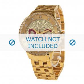 Dolce & Gabbana bracelet de montre DW0377 Métal Or
