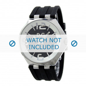 Dolce & Gabbana bracelet de montre DW0582 Caoutchouc Noir