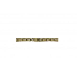 Morellato bracelet de montre D0152025 Métal Or (dorée) 14mm