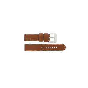 Danish Design bracelet de montre IQ12Q711 / IQ12Q888 Cuir Brun 20mm