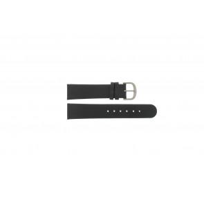 Danish Design bracelet de montre IQ13Q672 / IQ12Q993 / DDBL20 Cuir Noir 20mm