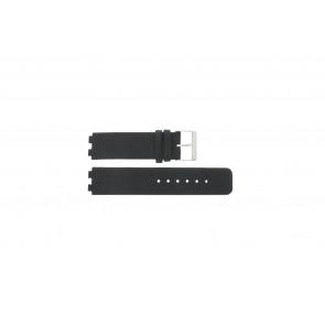 Danish Design bracelet de montre IQ13Q523 / IQ12Q523 Cuir Noir 16mm