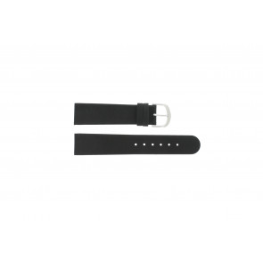 Bracelet de montre Danish Design IQ13Q272 / IQ12Q272 / IQ14Q199 / IQ16Q563 Cuir Noir 18mm