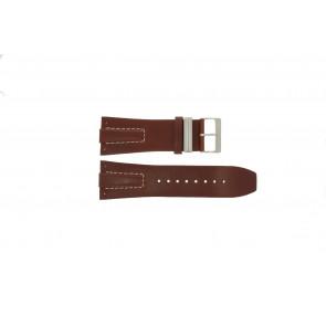 Davis bracelet de montre BB0580 / BB0581 / BB0582 Cuir Brun 30mm