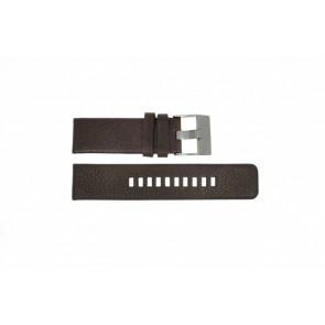 Diesel bracelet de montre DZ-1467 Cuir Brun 24mm