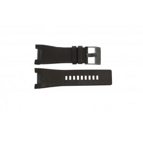 Diesel bracelet de montre DZ1216 Cuir Brun 32mm