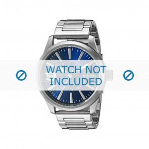 Diesel bracelet de montre DZ1763 Métal Argent 24mm