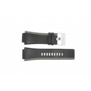 Diesel bracelet de montre DZ-4083 Cuir Noir 22mm