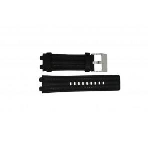 Diesel bracelet de montre DZ-4118 Cuir Noir 20mm